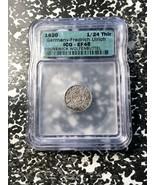 1620 Germania Brunswick-Wolfenbuttel 1/24 Thaler ICG Xf45 Lotto #G990 Ar... - $102.74