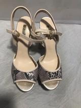 Guess snake skin block platform heel size 10 brand new - $34.65