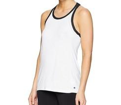 Champion Women's Gym Issue Tank Top FreshIQ Double Dry Workout White Siz... - $10.00