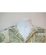 Kona Kai Silk-Blend Hawaiian Shirt, Excellent, Men's Large 1073 - $13.74