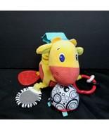 "Bright Starts Start Your Senses Plush Sensory Giraffe 10"" Crib Hanger Cr... - $12.86"