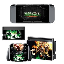 Attack on titan vinyl decal for Nintendo switch console sticker skin - $15.00