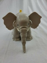 Fisher Price Little People Animals Zoo Large Elephant With Sounds - $16.00