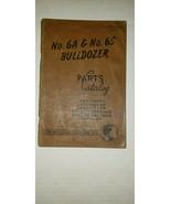 1960 Caterpillar Cat 6A 6S Bulldozer Dozer Parts Catalog Manual 15C5001-... - $18.23