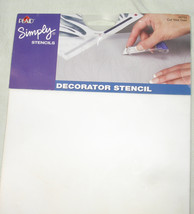 Extra Large Plaid Cut Your Own Blank Wall Stencil - DIY Home Decor Supply - $6.99