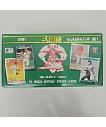 1991 Score Collector Set.  Over 900 Baseball Cards. New And Sealed. 7299... - $49.99