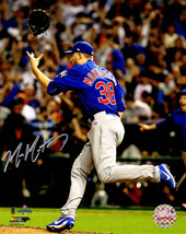 MIKE MONTGOMERY Signed Cubs 2016 World Series Celebration 8x10 Photo - S... - $64.35