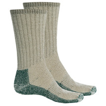 Woolrich Heavyweight 70% Merino Wool Expedition Socks for Men: 2-Pack si... - $21.99