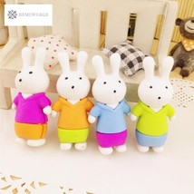 1pcs/lot Kawaii 3D Rabbit design Detachable Eraser funny student gift ki... - $2.78