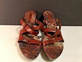 "ENZO Angiolini Heels Womens Shoes Wedge 3.5"" sz 9 M - $15.61"