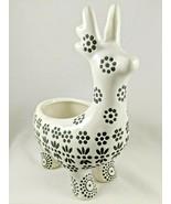 Deer Figurine Plant Pot Key Holder Ceramic Table Desk Decor Textured Design NWT - $16.99