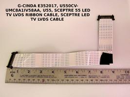 Sceptre U550CV-UMC8A1IV58AA, U55 Lvds Cable Pn: E352017 - $13.00