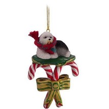 Conversation Concepts Old English Sheepdog Candy Cane Ornament - $15.99
