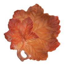 Harvest Leaf Thanksgiving Autumn Serving Bowl - $99.99