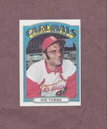 1972 Topps # 500 Joe Torre St. Louis Cardinals Nice Card - $3.99