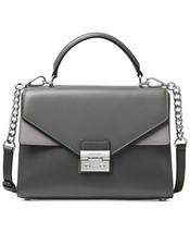 Michael Kors Charcoal Grey Multi Leather Top Handle Sloan Satchel MSRP: ... - $149.00