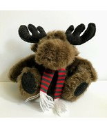 Cherrydale Farms Moose Plush Christmas Holiday Winter Reindeer Stuffed A... - $22.05