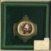 1983 New in Box - Hallmark Christmas Keepsake Ornament - Santa's on His ... - $3.95