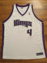 Authentic 2004 Reebok Sacramento Kings Chris Webber Home White Jersey 56 - $249.99