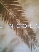 2001 Lincoln CONTINENTAL sales brochure catalog US 01  - $8.00