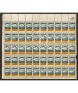 Illinois 1818 - 1968, Sheet of 6 cent stamps, 50 stamps total - $7.50