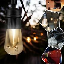 Outdoor LED String Lights 24 Feet Linkable Backyard Patio Garden Bistro ... - $74.97