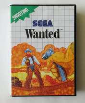 Ms   Wanted Wanted   Overseas Sega Master System Software - $92.25
