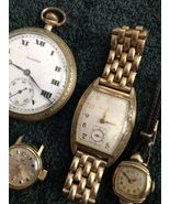 ASSORTMENT OF POCKET WATCHES LADIES WATCHES GENTS WATCHES FOR PARTS OR R... - $99.95
