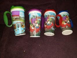 Walt Disney World Souvenir Resorts Plastic Refill Mug Cup Lot of 4 - $25.90
