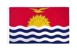 """Kiribati 3X5' Flag New 3'X5' 3 X 5 Feet 36X60"""" Big - $9.85"""