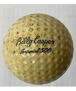 BILLY CASPER SIGNATURE LOGO GOLF BALL (CIR 1962 IMPERIAL 500 SOLID STATE) - $12.82