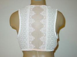Victoria's Secret Dream Angel off white beige bra bralette lacy back-L-NEW - $27.87
