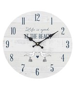 MDF Life is Good at the Beach Wall Clock; 43438 - $18.90