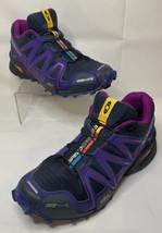 Salomon Speedcross 3 Light Weight Running Shoes Women Size 7 Athletic 352266 - $69.99