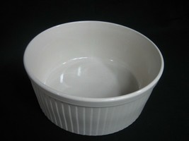 Capri Bake Serve'n Store Stoneware Ivory Ribbed Casserole Dish - $16.79
