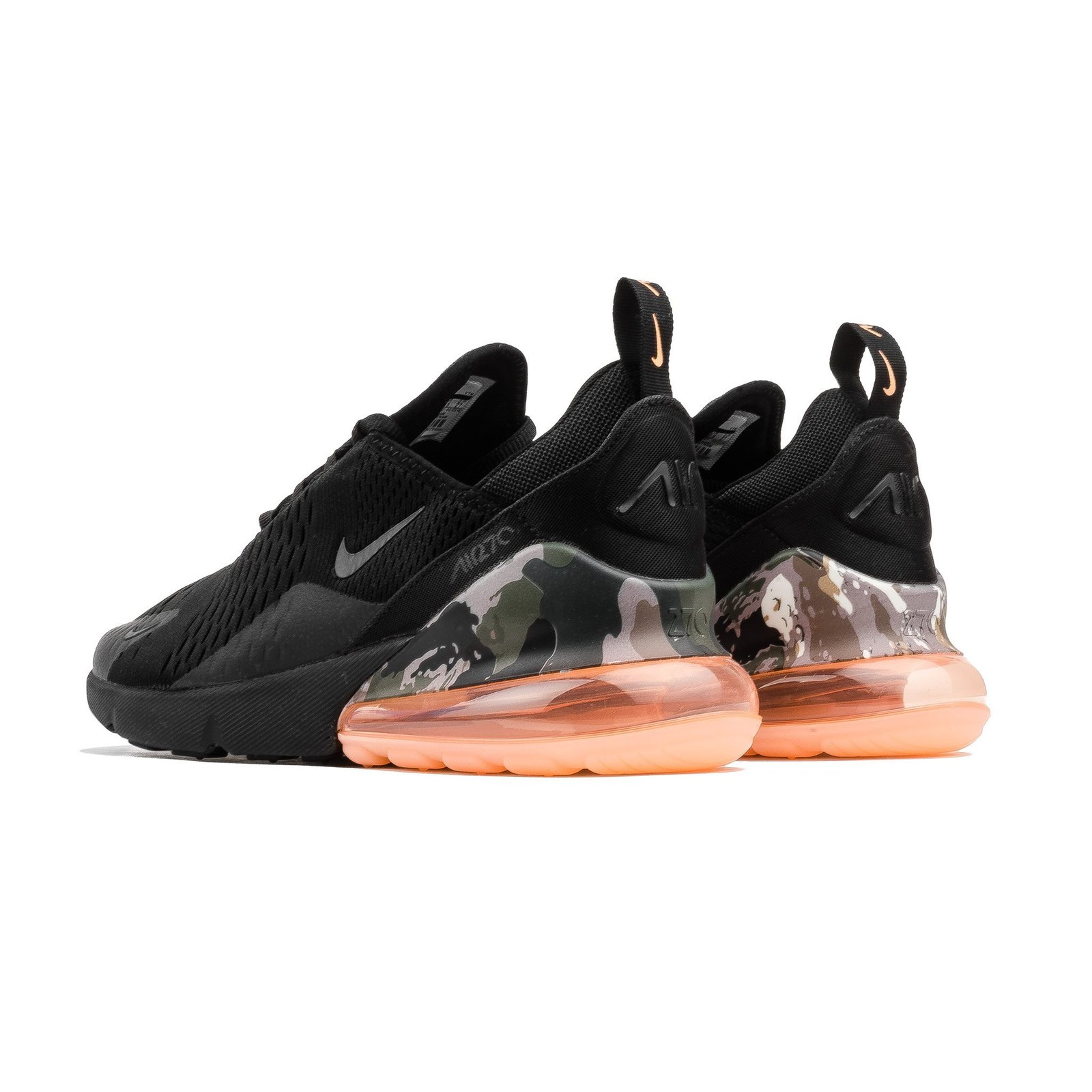 info for eeaae 8f779 Nike Air Max 270 (Black/ Sunset Tint Camo) and 50 similar items