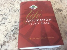 Life Application Study Bible (1997, Hardcover) - $12.86