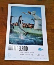 c 1951 MARINELAND GUIDE TO MARINE STUDIOS BOOKLET FLORIDA 32 PAGES VG COND. - $8.13