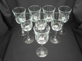 8 Vintage Luminarc Bengale 10 ½ ounce Water Goblets/Stems - $39.99