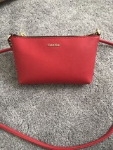 NWT Calvin Klein Hayden Chain Mini Crossbody Poppy 98$ - $57.32