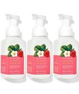3 Bath & Body Works Pink Strawberry Gentle & Clean Foaming Soaps w/Essen... - $28.04