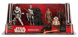 Star Wars The Force Awakens Figurine Playset 6 Piece Set  - $52.23
