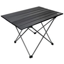 Portable Camping Table Small Folding Aluminum Table Lightweight Compact ... - $19.00