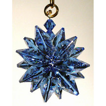 Small Colored Crystal Suncluster Ornament image 3