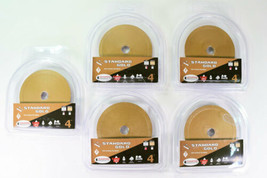 """5 Diamond Products Core Cut 4"""" Standard Gold Wet Cutting Tile Blades 5/8... - $51.25"""