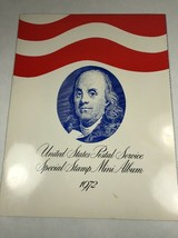1972 USPS Special Stamp Mini-Album Unite States Postal Service With Extr... - $9.89