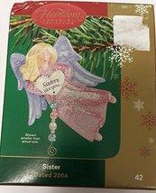 "Carlton Cards Christmas Ornament ""Sister"" 2004 #42 - $49.50"