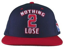 DGK Dirty Ghetto Kids Navy Red Nothing To 2 Lose Snapback Baseball Hat NWT image 1