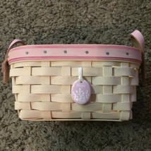 2005 Longaberger Small Breast Cancer Basket - Gently Used - $15.00