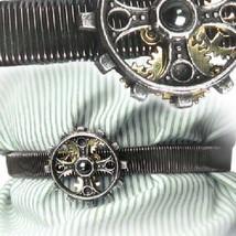 SteamPunk Victorian Foundryman's Ring Cross Pewter Shirt Sleeve Band, NE... - $33.85